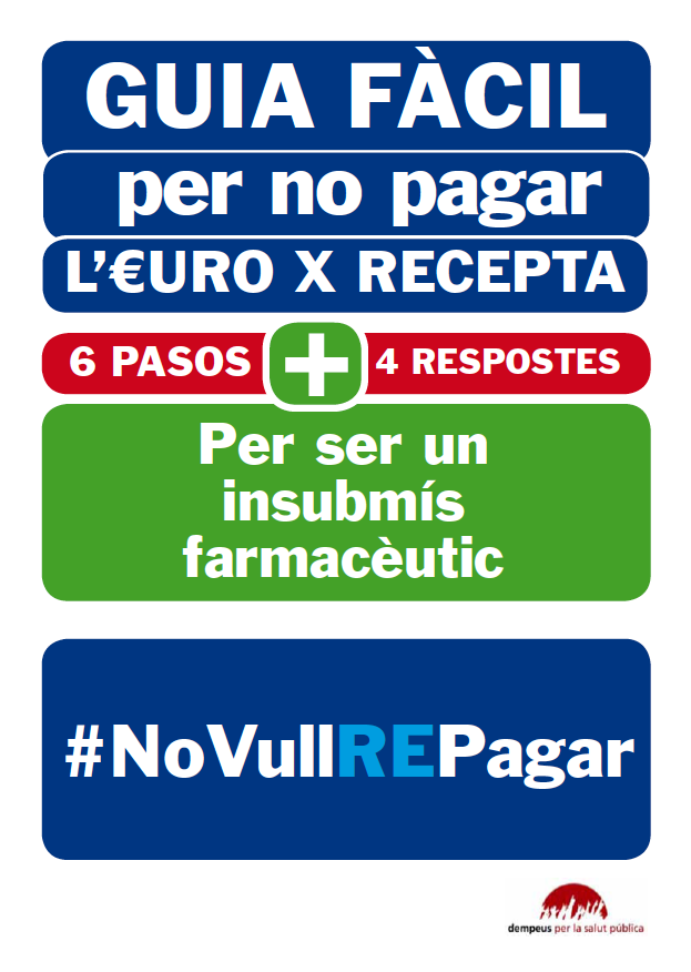 GUIA FCIL per no pagar lEuro PerRecepta #novullREpagar