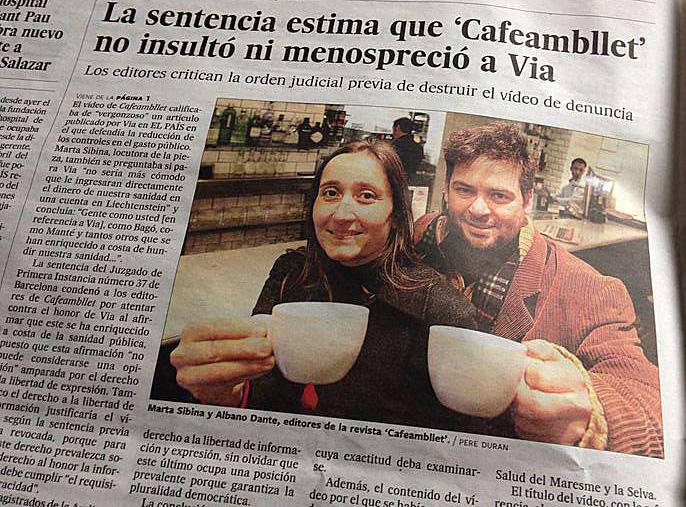 Revista Cafè amb Llet